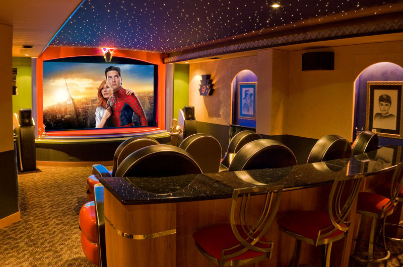 Beautiful Home Movie Theater